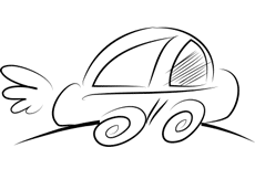 car line illustration